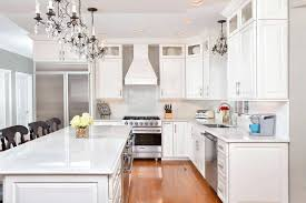 Charming Composite Countertops Kitchen Artistic Traditional With Open Dining Room To Custom Cabinets Quartz