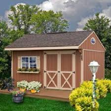 Everton 8 X 12 Wood Shed by Everton 8 U0027 X 12 U0027 Wood Storage Shed Lawn Mower Shed Pump House