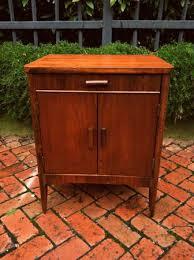 Vintage Mahogany Record Cabinet Urban Dwellers