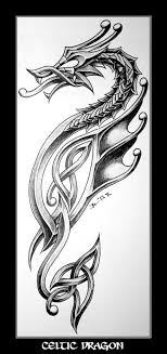 Celtic Dragon Tattoo Design Because Im Irish And I Love Dragons