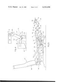 Shermag Rocking Chair Assembly by Patent Us4212494 Rocker Reclining Chair With Multi Position