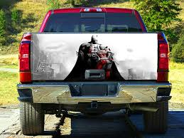 100 Tailgate Truck Amazoncom Batman And Harley Quinn Wrap Decal