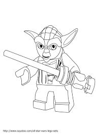 Yoda Thinks Coloring Page