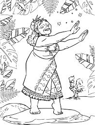 Coloriage Vaiana Tala Imprimer Avec Et Coloriage Imprimer Vaiana 42
