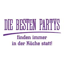 wandtattoo die besten partys finden in der küche statt wandtattoos lila dekodino