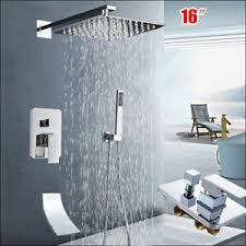 details zu 3 wege bad duscharmaturen armatur regendusche handbrause duschsystem duschset de