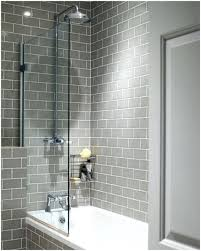 Grey Tiles With Grey Grout by White Subway Tile Grey Grout Bathroom U2013 Sportactualite Info