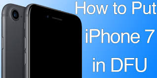 How to Put iPhone 7 & 7 Plus in DFU Mode Quickly