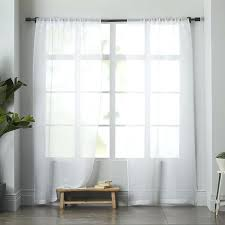 Gray Sheer Curtains Bed Bath And Beyond by White Sheer Curtains Bed Bath And Beyond Linen Curtain West Elm