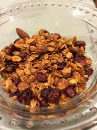 Pumpkin Seeds Low Glycemic Index by Maple Almond Granola With Pumpkin Seeds And Dried Cranberries