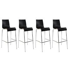 cdiscount chaise de bar tabouret de bar avec 4 pieds design en image