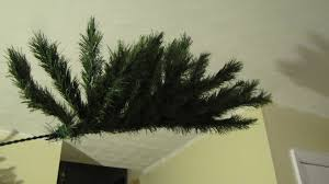 8ft Christmas Tree by Turning A 6ft Sparse Fake Christmas Tree Into An 8ft Full Cat