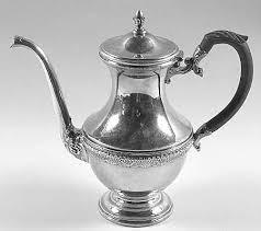 International Silver First Love Silverplate Hollowware Coffee Pot