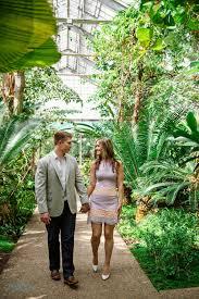 Angie & Kyle Ann Arbor Engagement Matthaei Botanical Gardens