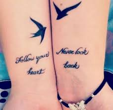 Sisters Tattoo Quote Ideas