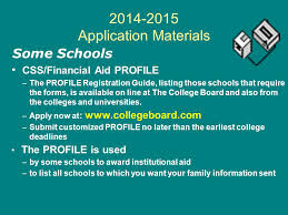 college financing workshop ppt download
