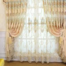 klassischen europäischen luxus wasserlösliche stickerei vorhänge für wohnzimmer gardinen für küche fenster vorhang schlafzimmer