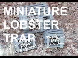 diy miniature lobster trap youtube