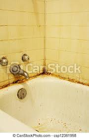ii bad dreckige badewanne schmutzig armut flecke