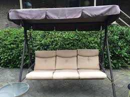 fred meyer patio swing canopy replacement and cushions available