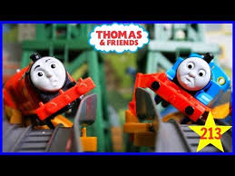 Trackmaster Tidmouth Sheds Youtube by Thomas And Friends The Great Race 213 Trackmaster Thomas Train