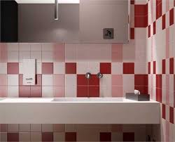 Color For Bathroom Tiles by Modern Wall Tiles In Red Colors Creating Stunning Bathroom Design