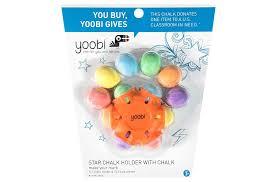 Amazon.com: Yoobi Star Chalk Holder With 1 Chalk Holder And 12 Chalk ...