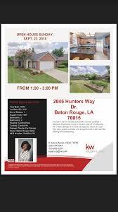 100 Open Houses Baton Rouge KJuana Bessix Realtor Keller Williams Realty First Choice