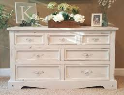 Chalk Paint Distressed Dresser