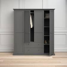 home affaire kleiderschrank im romatischen landhaus stil aus schönem holzfurnier höhe 200 5 cm kaufen otto