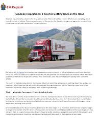 100 Indiana Trucking Jobs Default By COCP Roadside Inspections 3 Tips For Getting