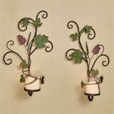 medium wall sconces and candleholders touch of class