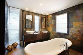 Image Of Good Rustic Bathroom Wall Decor