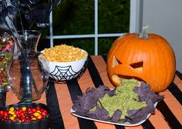 Vomiting Pumpkin Guacamole by At Home With The Houses November 2014