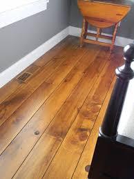 White Pine Wide Plank Distressed Wood Flooring
