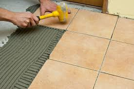 laying tiles on concrete floor floor with regard to how spread