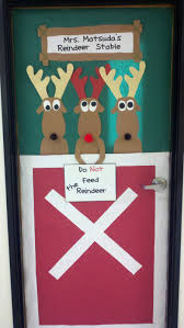 Classroom Christmas Door Decorating Contest Ideas Fun Classroom