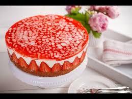 rezept sommerliche erdbeer torte dr oetker