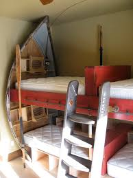 Babyhome Bed Rail by Drift Boat Bunk Room By Rusty Nail Design Older Projects