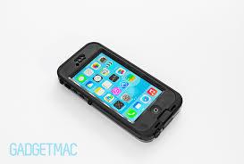 LifeProof Nuud iPhone 5c Waterproof Case Review — Gad mac