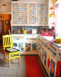 Colorful Mexican Kitchen Making A Theme