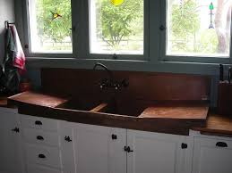 Install Kindred Sink Strainer by Kitchen Design Ideas Floral Single Bowl Copper Farmhouse Sink