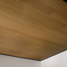 Tectum V Line Ceiling Panels by Wood Ceilings Planks Panels Armstrong Ceiling Solutions