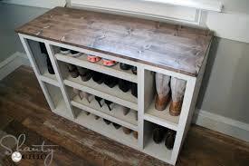 diy shoe storage cabinet shanty 2 chic