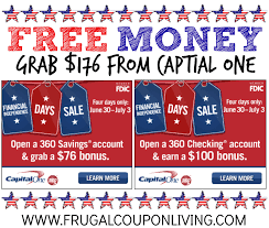 Capital One Open Checking Account Coupon : Online Coupon ... Roundup Of Bank Bonuses 750 At Huntington 200 From Chase Total Checking Coupon Code 100 And Account Review Expired Targeting Some Ink Cardholders With 300 Brighton Park Community Bonus 300 Promotion Palisades Credit Union Referral 50 New Is It A Trap Offering Just To Open Checking Promo Codes 350 500 625 Business Get With 600 And Savings Accounts Handcurated List The Best Sign Up In 2019 Promotions Virginia