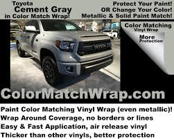 Toyota Cement Gray 1H5 Vinyl Wrap: Buy Cement Gray In A Wrap ... Colors With Street Vehicles Paints Trucks For Color Chart Toyota Auto Paint Google Search How To Get Showcar Paintand The Right Custom Color Hot Rod Network Vehicle Wraps Greensboro Nc Vinyl Wrapping Ppg Best Use Of Awards Presented At Nsra Nat Midway Ford Truck Center New Dealership In Kansas City Mo 64161 Paint Question Enthusiasts Forums Corvette Trucking Monterey Red 2012 Peterbilt 389 Most Exciting Special Edition Chevy Pickups 2016 1955 Second Series Chevygmc Pickup Brothers Classic Parts Poor Mans Job 6 Steps Pictures A Brief History Of Car And Why Are We So Boring Now