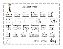 Printable letters to trace