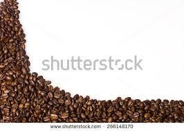 Coffee Beans Border Stock Photo Royalty Free 266148170