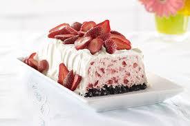 dessert aux fraises mousse glacée aux fraises kraft canada