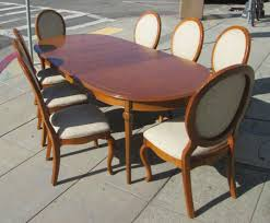 Uhuru Furniture Collectibles Sold Thomasville Dining Room Set Within Chairs
